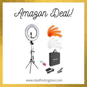 18-inch ring light amazon deal