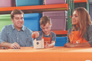 Home Depot kids workshop