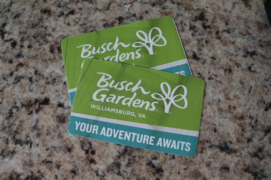 Bush Gardens Tickets