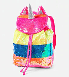 justice unicorn backpack