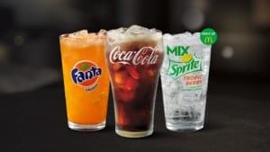 free soda at McDonald's