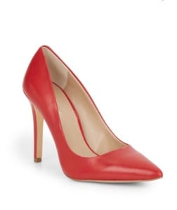 Cathy leather pumps Saks Off5th