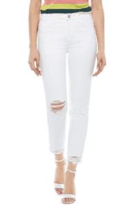 Sam Edelman white jeans
