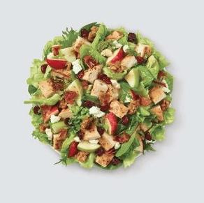 free salad at wendy's