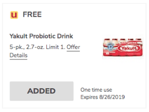 freebie-Yakult-yogurt-Acme-free