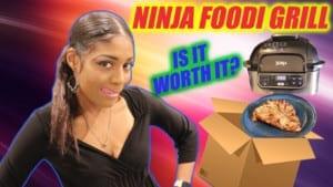 ninja foodi grill review unboxing-sale