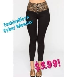 FashionNova jeans promo code Cyber Monday