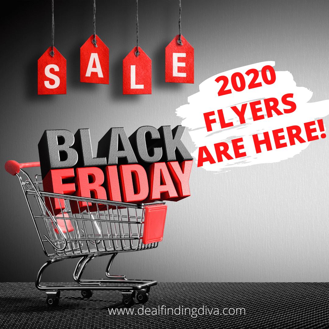 black friday 2020 sales flyers