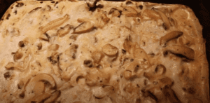 creamed fish with mushrooms