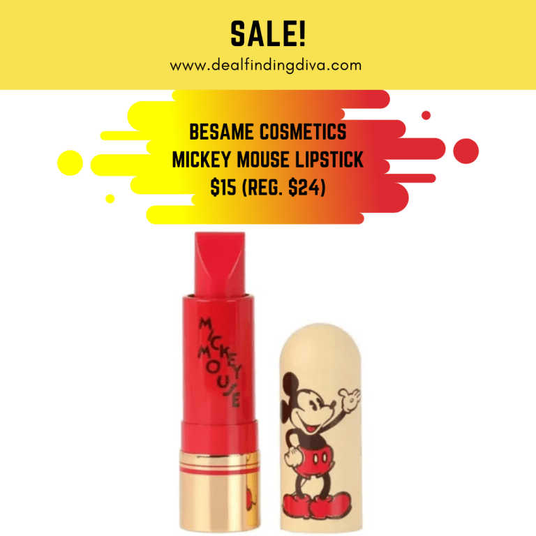 besame cosmetics lipstick mickey mouse