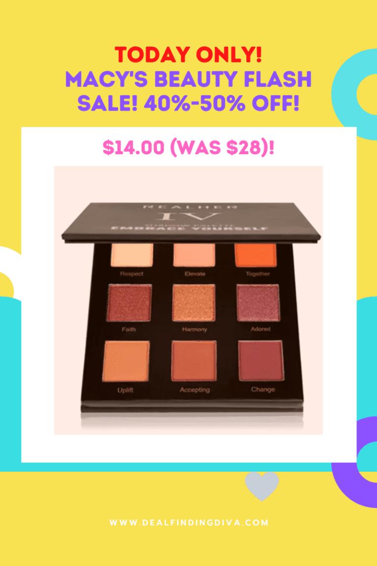 macy's flash beauty sale
