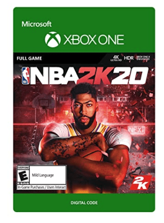 NBA 2k20 for xbox one digital download sale