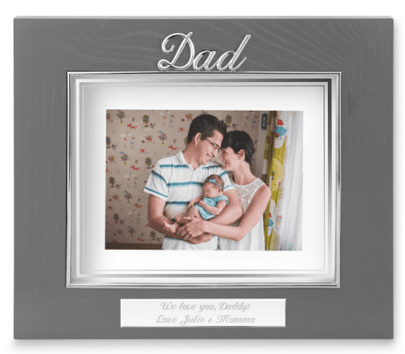 FATHER'S DAY 2020 GIFT idea picture frame