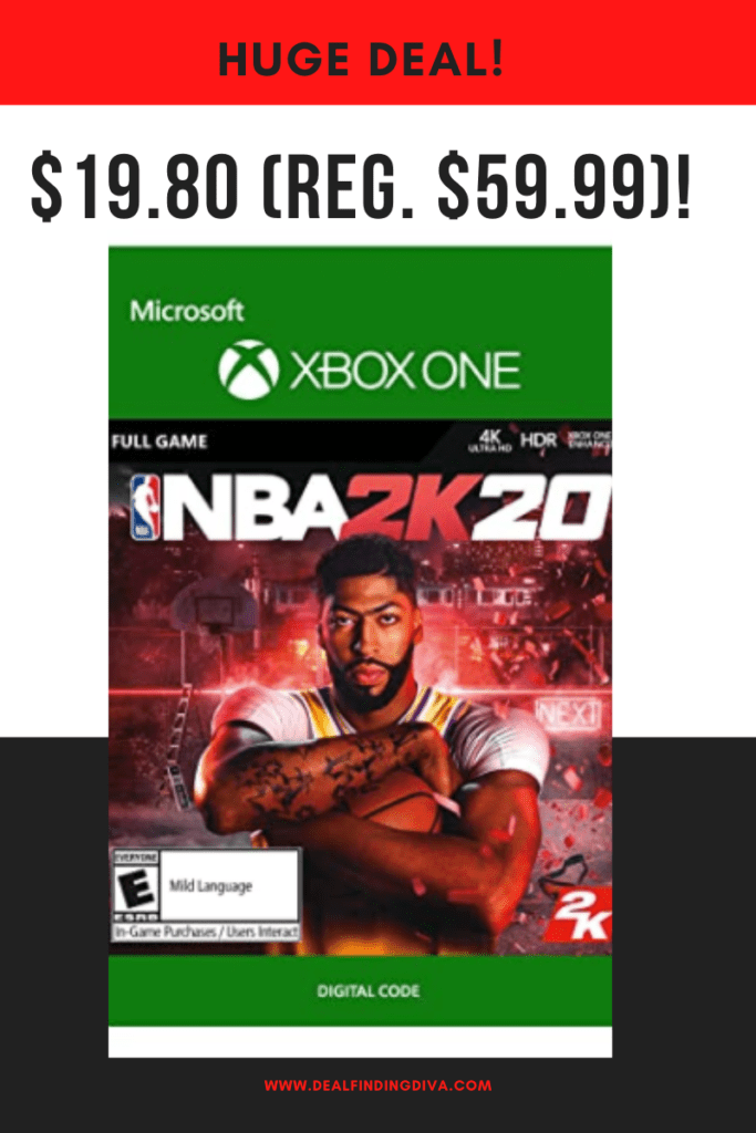 NBA 2K20 XBOX ONE DIGITAL CODE