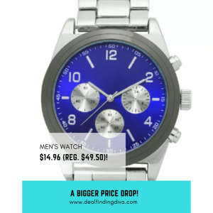 men's watch sale father's day gift ideas 2020