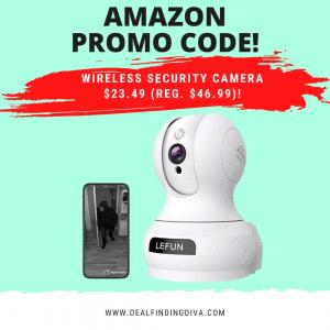 wireless security camera amazon promo code
