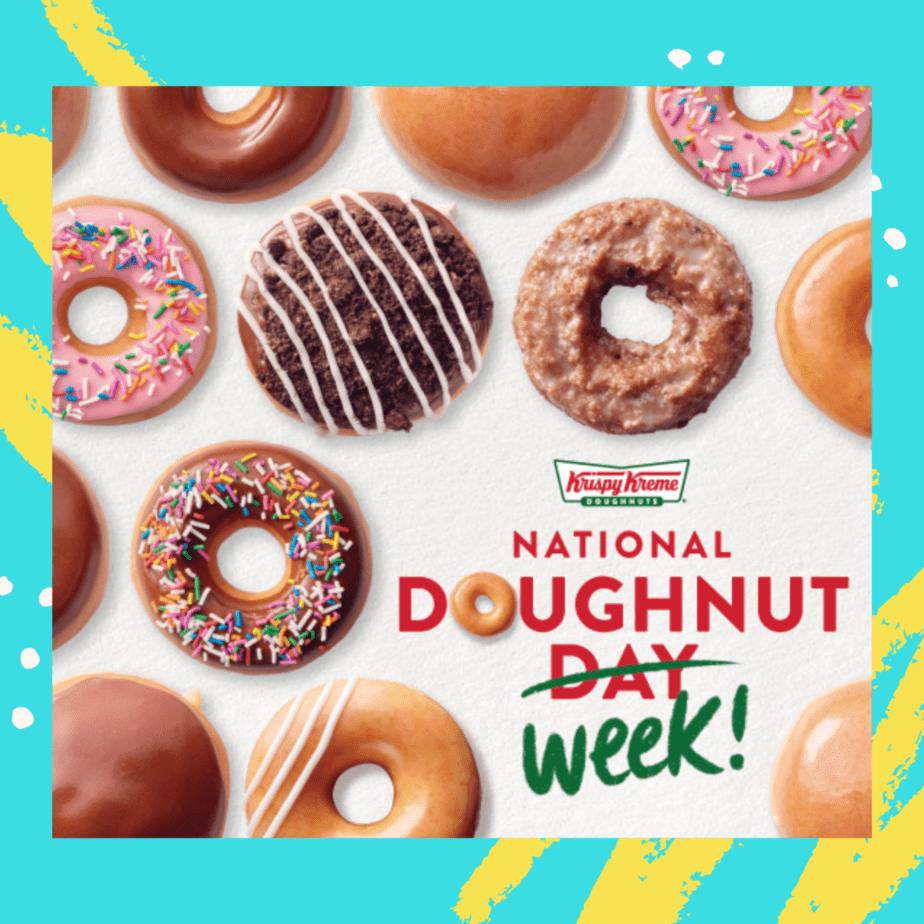 national donut day 2020 krispy kreme