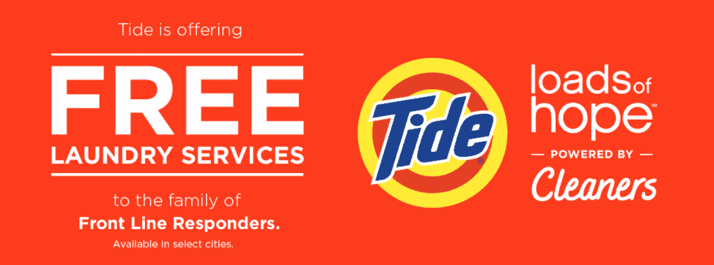 free tide laundry services