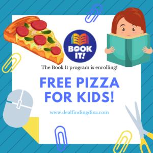 the book it program free pizza hut