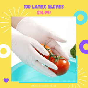 100 latex gloves