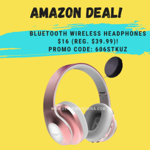 bluetooth wireless headphones with microphone