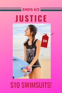 justice store swimsuit sale