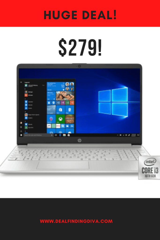 HP 15-inch laptop sale