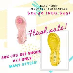 macy's flash sale shoes promo code