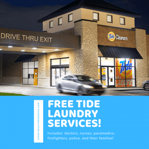 free tide laundry services for first responders