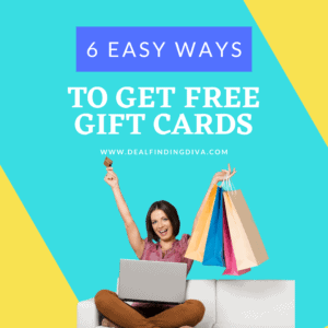 6 EASY WAYS TO GET FREE GIFT CARDS