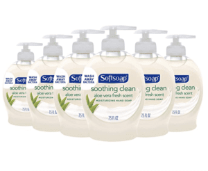 6 pack of softsoap