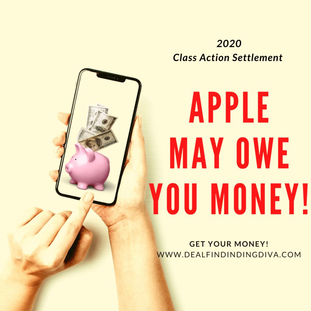 apple class action settlement