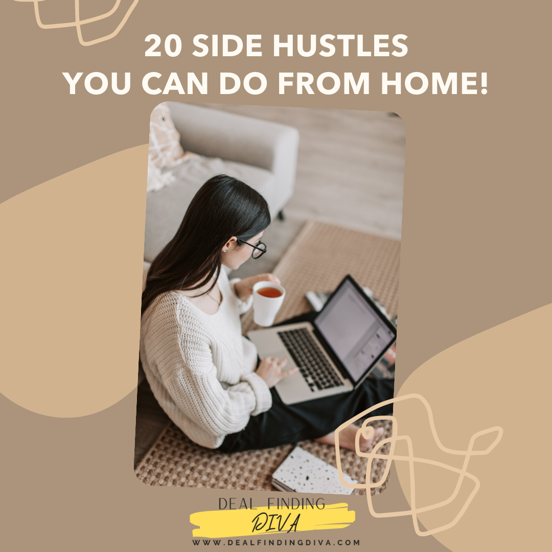 20 side hustles from home 2021