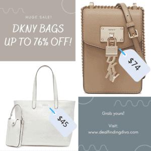 DKNY BAG SALE