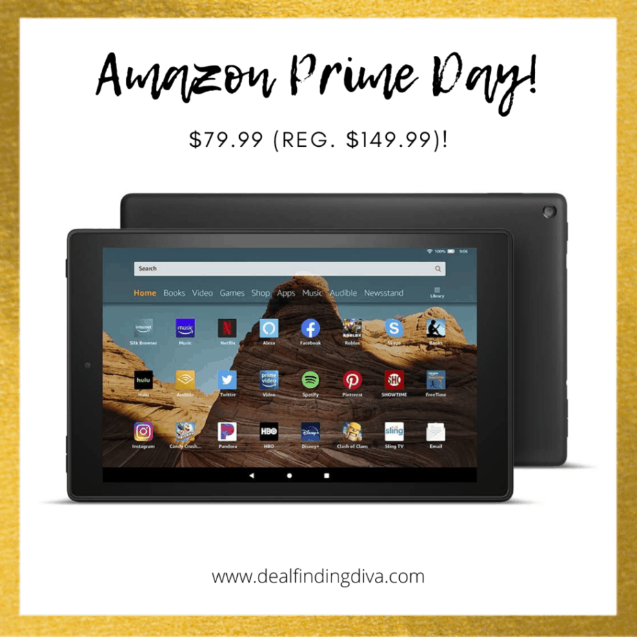 FIRE HD TABLET AMAZON PRIME DAY 2020