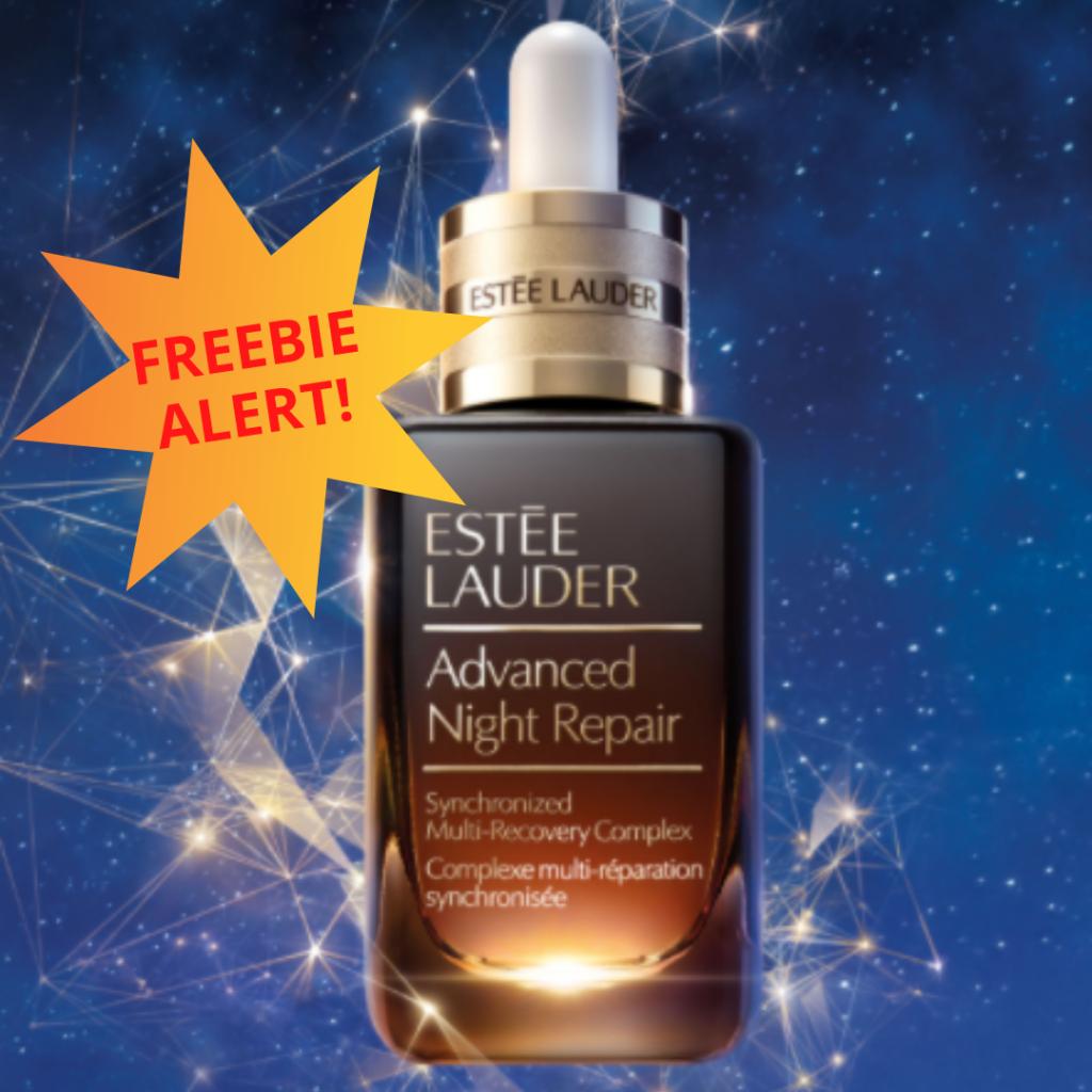 free send me a sample estee lauder night repair serum