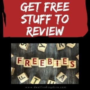 get free stuff to review