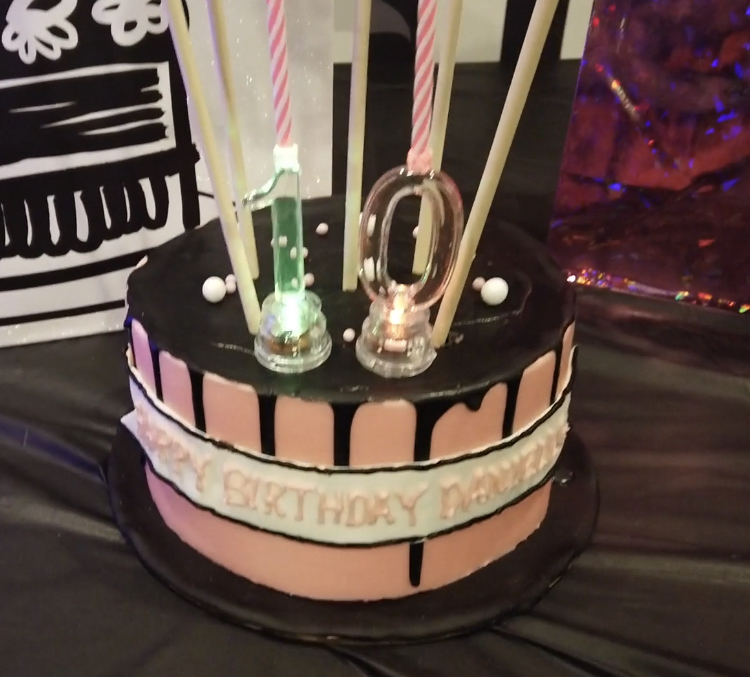 blackpink birthday cake