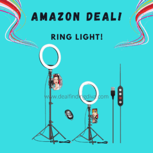 10-INCH RING LIGHT FOR PHONE