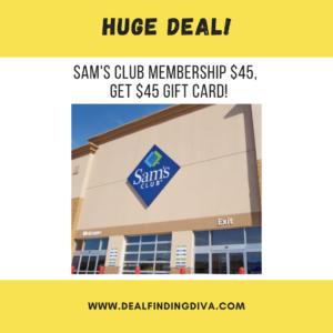 SAM'S CLUB MEMBERSHIP DEAL