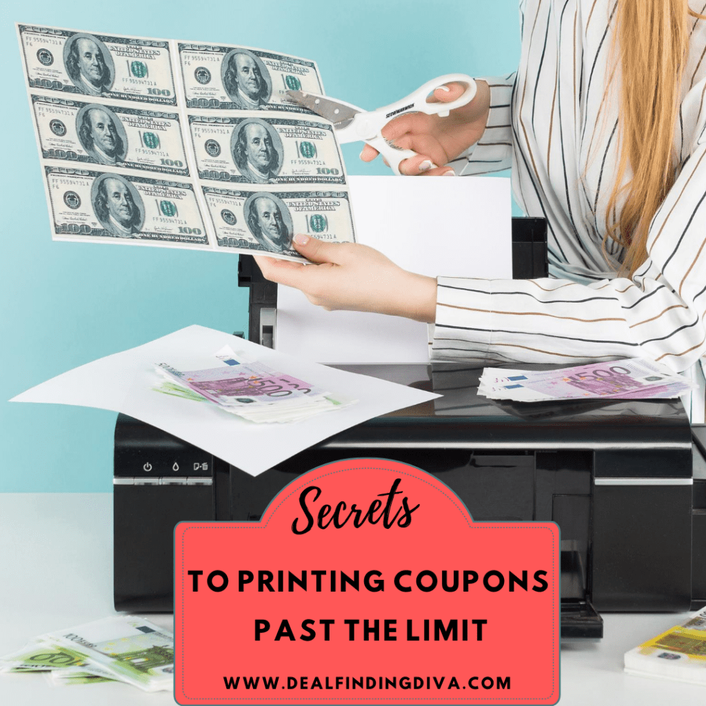 secret to printing coupons past the limits
