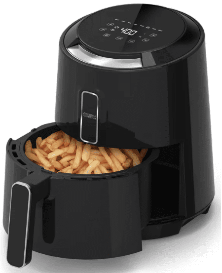 crux air fryer 3.7 quart touchscreen
