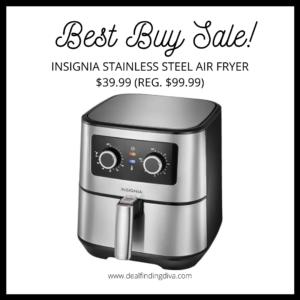 Stainless steel air fryer Best Buy sale