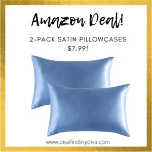 2-pack satin pillowcases