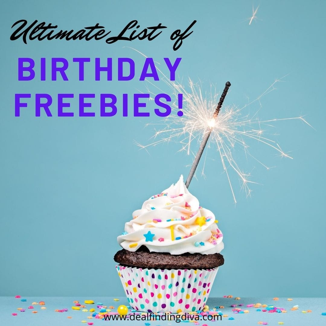 the ultimate list of birthday freebies