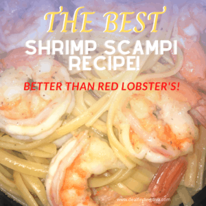 the best shrimp scampi with pasta recipe easy