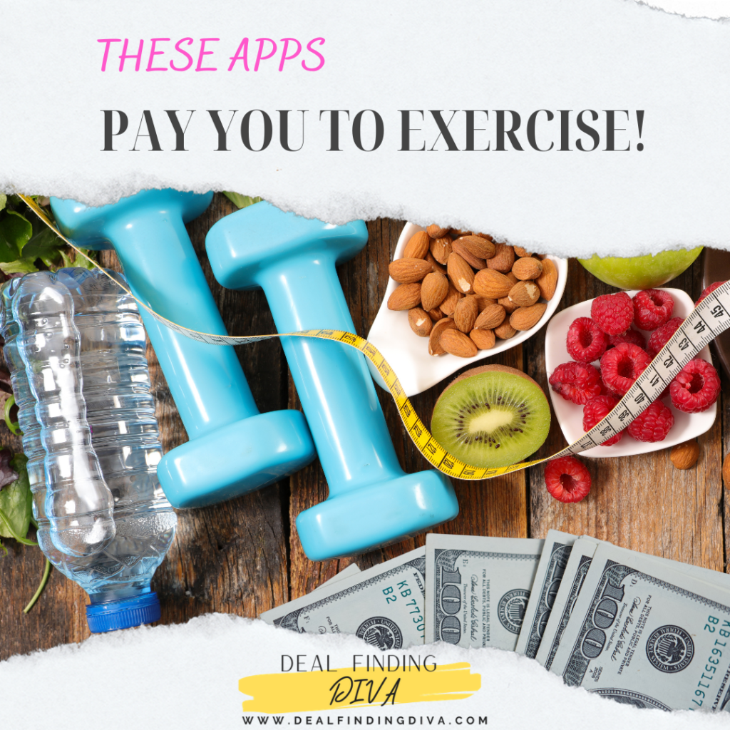 apps will pay you to lose weight exercise work out walking side hustle