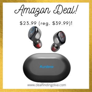 waterproof bluetooth wireless ear buds amazon deal