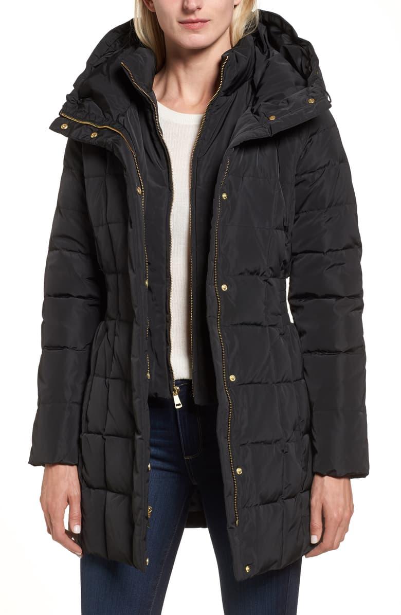 cole haan down feather coat Nordstrom sale