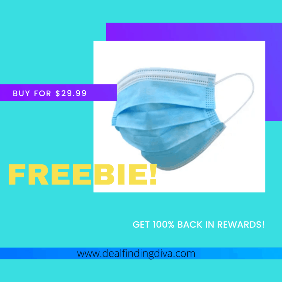 freebie 50-pack of face masks